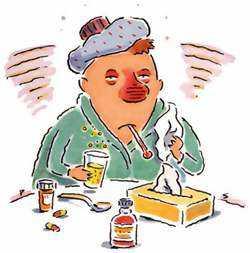 Методика ДЭНС - терапии при лечении простуды